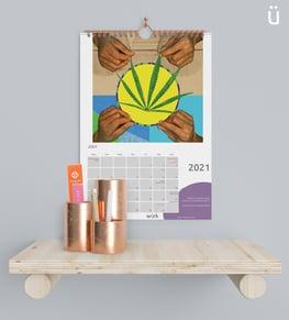 2021 Calendar Mock